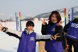 左は大阪教育大・吉田香澄さん