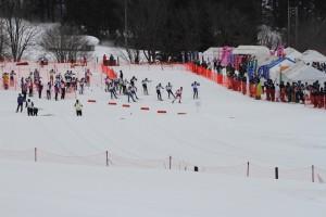 第88回全日本学生選手権大会 男子3部ノルディックスキー15kmフリー