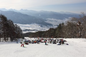 JSBA全日本学生選手権大会は中部地区大会と併催された