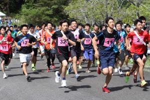 #32は関西大学1走・波戸崎友哉選手(1)