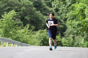 #134は個人参加の関西大学・神戸愛美選手(1)