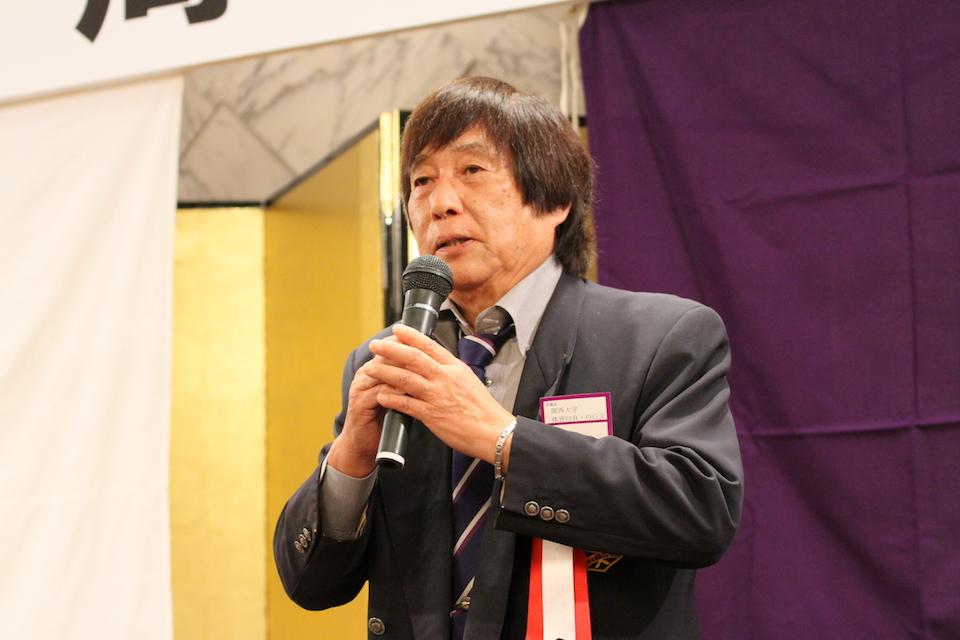 関西大学体育OB・OG会 会長 女川 隆様