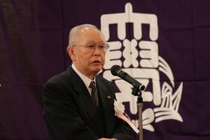 関西大学スキークラブ 名誉会長 露口 和夫