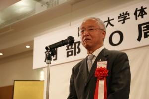 関西大学校友会 副会長 田中 義昭様