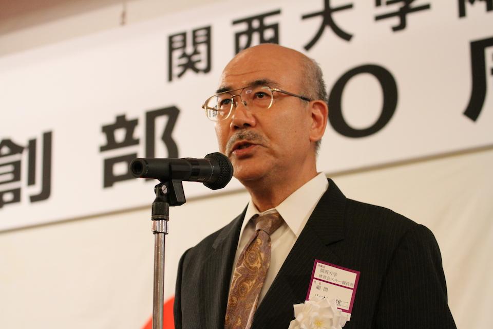 関西大学体育会スキー競技部 顧問 山本 雄二