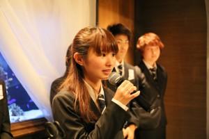 学生トレーナー 武田 彩(2マネージャー)