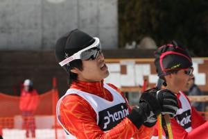 1回生ながらA決勝に残った岡村選手