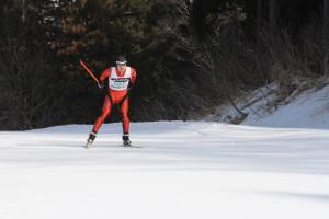 岡村は3:32.41のタイムで5位予選通過